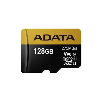 ADATA AUSDX128GUII3CL10-CA1 microSDXC 128GB UHS-II U3 Class 10 read/write 275/155MBps