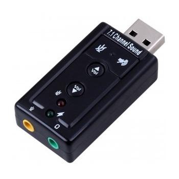 Ewent EW3762 adattatore per inversione del genere dei cavi USB audio-in/audio-out Nero