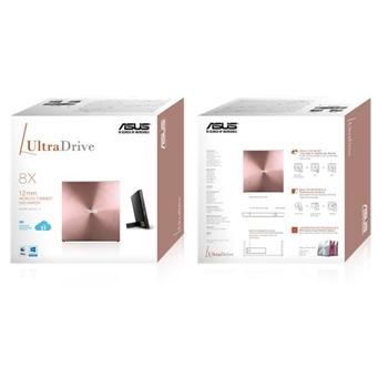 ASUS SDRW-08U5S-U/PINK/G/AS Asus External Slim DRW Asus 08U5S, 24x, Pink