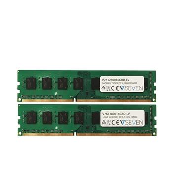 V7 2X8GB KIT DDR3 1600MHZ CL11 NON ECC DIMM PC3L-12800 1.35V