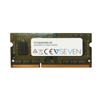 V7 4GB DDR3 1333MHZ CL9 NON ECC SO DIMM PC3-10600 1.5V