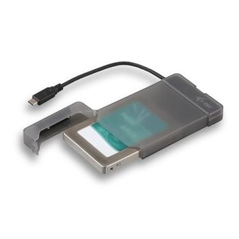 "i-tec C31MYSAFEU313 contenitore di unità di archiviazione 2.5"" Enclosure HDD/SSD Nero"
