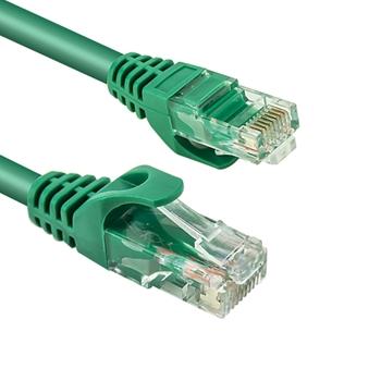 Vultech Cat6, 0.5 m cavo di rete 0,5 m U/UTP (UTP) Verde