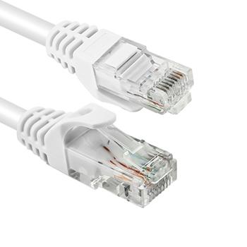 Vultech Cat6, 0.5 m cavo di rete 0,5 m U/UTP (UTP) Bianco