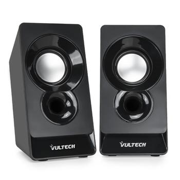 Vultech SP-320N altoparlante 2-vie 3 W Nero Cablato