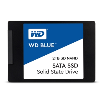 WD Blue 3D NAND SSD 2TB SATA III 6Gb/s cased 2.5Inch 7mm internal single-packed