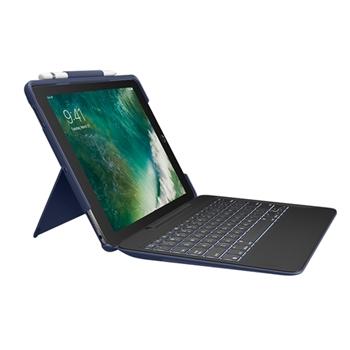 Logitech Slim Combo tastiera per dispositivo mobile QWERTY Italiano Blu Smart Connector