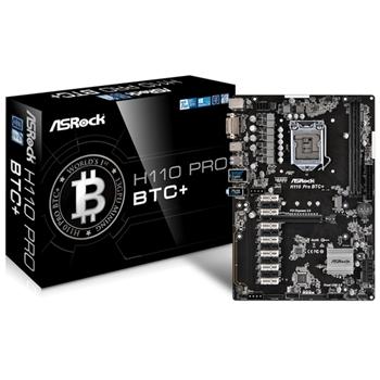 Asrock H110 Pro BTC+ scheda madre LGA 1151 (Presa H4) ATX Intel® H110