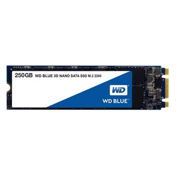 WD Blue 3D NAND SSD 250GB M.2 2280 SATA III 6Gb/s internal single-packed