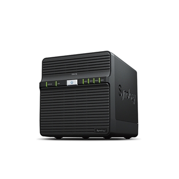 Synology DiskStation DS418j Collegamento ethernet LAN Scrivania Nero NAS