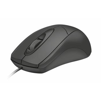 Trust Ziva mouse USB tipo A Ottico 1200 DPI Ambidestro