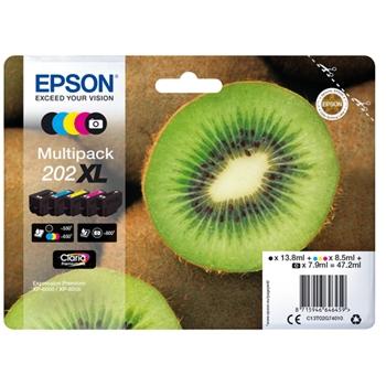 Epson Kiwi Multipack 5-colours 202XL Claria Premium Ink