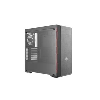 Cooler Master MasterBox MB600L Midi-Tower Nero, Rosso