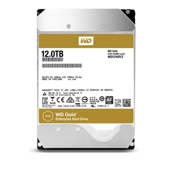 WD 12TB GOLD 256MB 3.5IN SATA 6GB/S 7200RPM