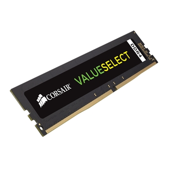 Corsair ValueSelect 8 GB, DDR4, 2666 MHz memoria