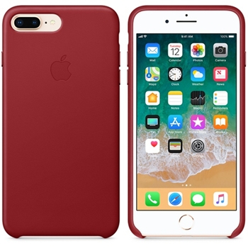 APPLE FN iPhone 8 Plus / 7 Plus Leather Case - PRODUCT RED (RCH)