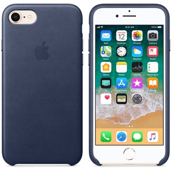 "Apple MQH82ZM/A custodia per cellulare 11,9 cm (4.7"") Custodia sottile Blu"