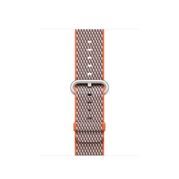 Apple MQVE2ZM/A accessorio per smartwatch Band Grigio, Arancione Nylon