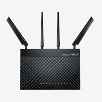 ASUS 4G-AC68U router wireless Dual-band (2.4 GHz/5 GHz) Gigabit Ethernet 3G Nero