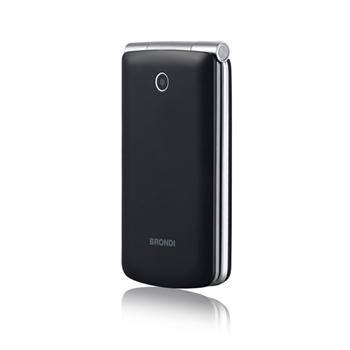 """Brondi Magnum 3 7,62 cm (3"""") Nero Telefono cellulare basico"""