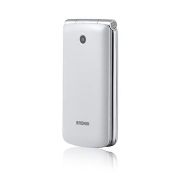 "Brondi Magnum 3 7,62 cm (3"") Bianco Telefono cellulare basico"
