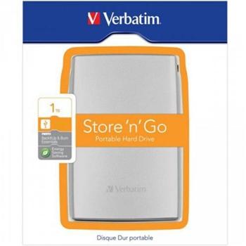 HDD ext. 2,5 1TB Verbatim USB3.0 Silver Verbatim Smart Disk