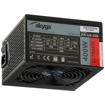 Akyga AK-U4-400 alimentatore per computer 400 W 20+4 pin ATX ATX Nero