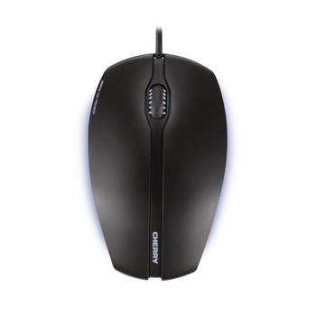 CHERRY Gentix Illuminated mouse USB Ottico 1000 DPI Ambidestro