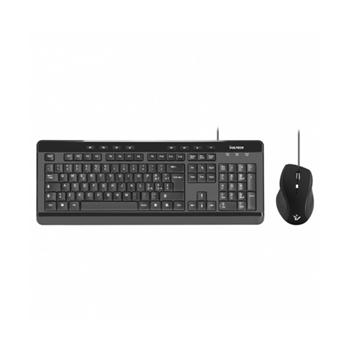 Vultech KM-850 tastiera USB QWERTY Italiano Nero