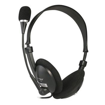 MS-Tech LM-105 Stereofonico Nero auricolari