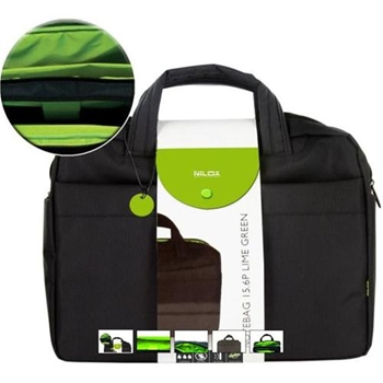 NILOX NOTEBAG 15.6P LIME GREEN