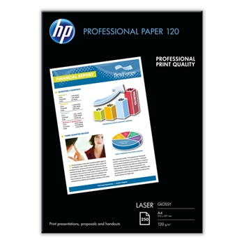 HP CG964A carta inkjet A4 (210x297 mm) Lucida 250 fogli Bianco