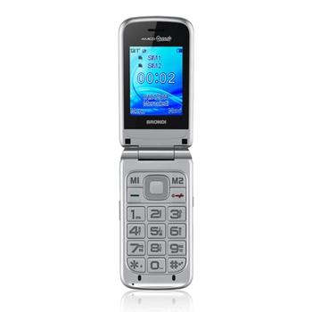 """Brondi Amico Grande Silver 6,1 cm (2.4"""") 95 g Argento Caratteristica del telefono"""