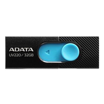 ADATA AUV220-32G-RBKBL Flash Drive UV220 32GB USB 2.0 black and blue