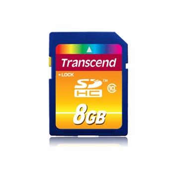 TRANSCEND Premium 8GB SDHC UHS-I Card Class10 30MB/s