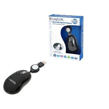 LogiLink ID0016 mouse USB Ottico 800 DPI