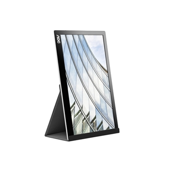"AOC Style-line I1601FWUX monitor piatto per PC 39,6 cm (15.6"") 1920 x 1080 Pixel Full HD LED Nero"