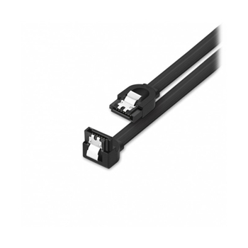 Vultech SA7P06-90 cavo SATA 0,5 m SATA 7-pin Nero