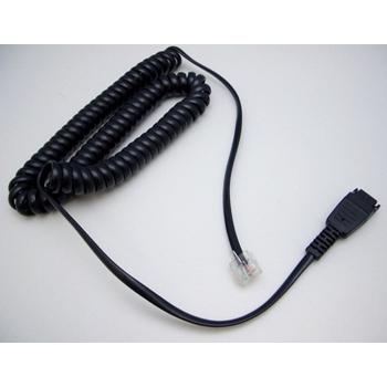 Jabra 8800-01-94 cavo telefonico 1,8 m Nero