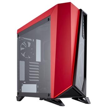 Corsair Carbide SPEC-OMEGA Midi-Tower Nero, Rosso