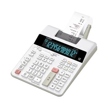 Casio FR-2650RC calcolatrice Scrivania Calcolatrice con stampa Nero, Bianco