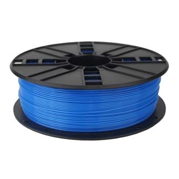 Gembird 3DP-PLA1.75-01-FB materiale di stampa 3D Acido polilattico (PLA) Blu fluorescente 1 kg