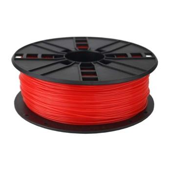 Gembird 3DP-PLA1.75-01-FR materiale di stampa 3D Acido polilattico (PLA) Rosso fluorescente 1 kg