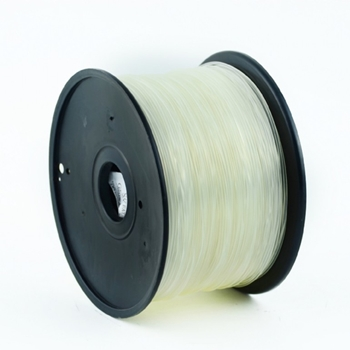 Gembird 3DP-PLA1.75-01-TR materiale di stampa 3D Acido polilattico (PLA) Trasparente 1 kg
