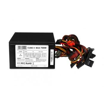 IBOX CUBE II 700W APFC 12CM FAN BLACK EDITION power supply