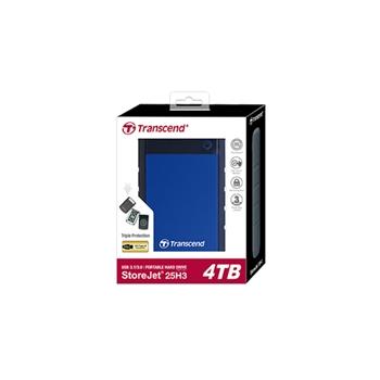TRANSCEND StoreJet 25H3B 4Tb portable HDD