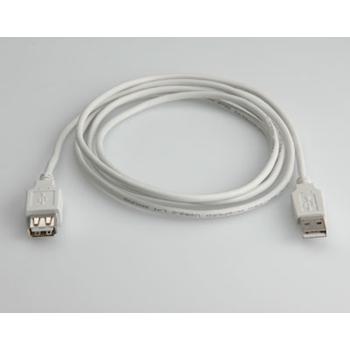 ITB CAVO PROLUNGA USB A/A M/F MT 0.80 BIANCO.