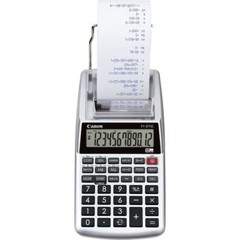 Canon P1-DTSC II EMEA HWB calcolatrice Scrivania Calcolatrice con stampa Grigio