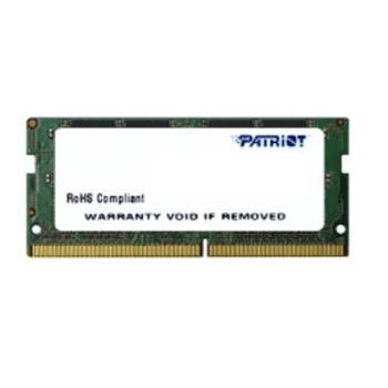 PATRIOT DDR4 SL 4GB 2400MHZ SODIMM 1x4GB