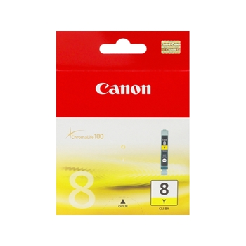 Ink Canon CLI8Y yellow | 13ml | iP3300/4200/4300/5200/5300/6600/6700/MP500/600/